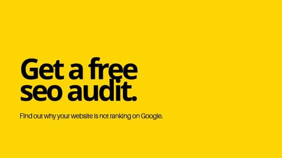 free SEO audit from SEO consultant
